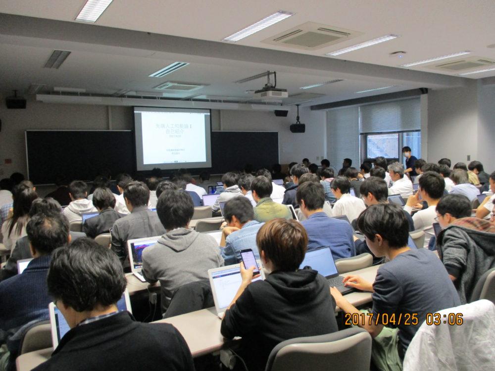 2018年度 Deep Learning講座の開講は秋学期となります。